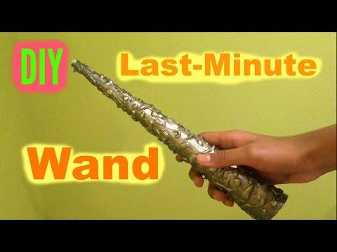 DIY Last-Minute Wand/ Unicorn Horn