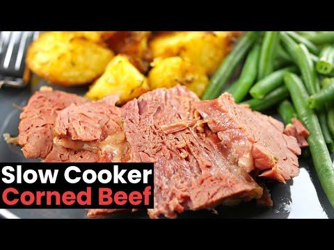 Super Easy Slow Cooker Corned Beef