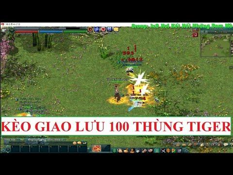 [HD+VietSub]Kèo giao lưu 100 thùng TIGER giữa 2 TLQ LV.59 mùa Covid - Võ Lâm Truyền Kỳ 2(VNG)