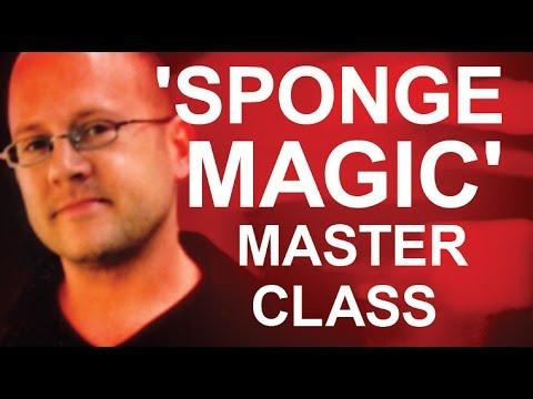 'SPONGE MAGIC' MASTER CLASS!
