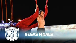 Isaac Caldiero at the Vegas Finals: Stage 1 | American Ninja Warrior
