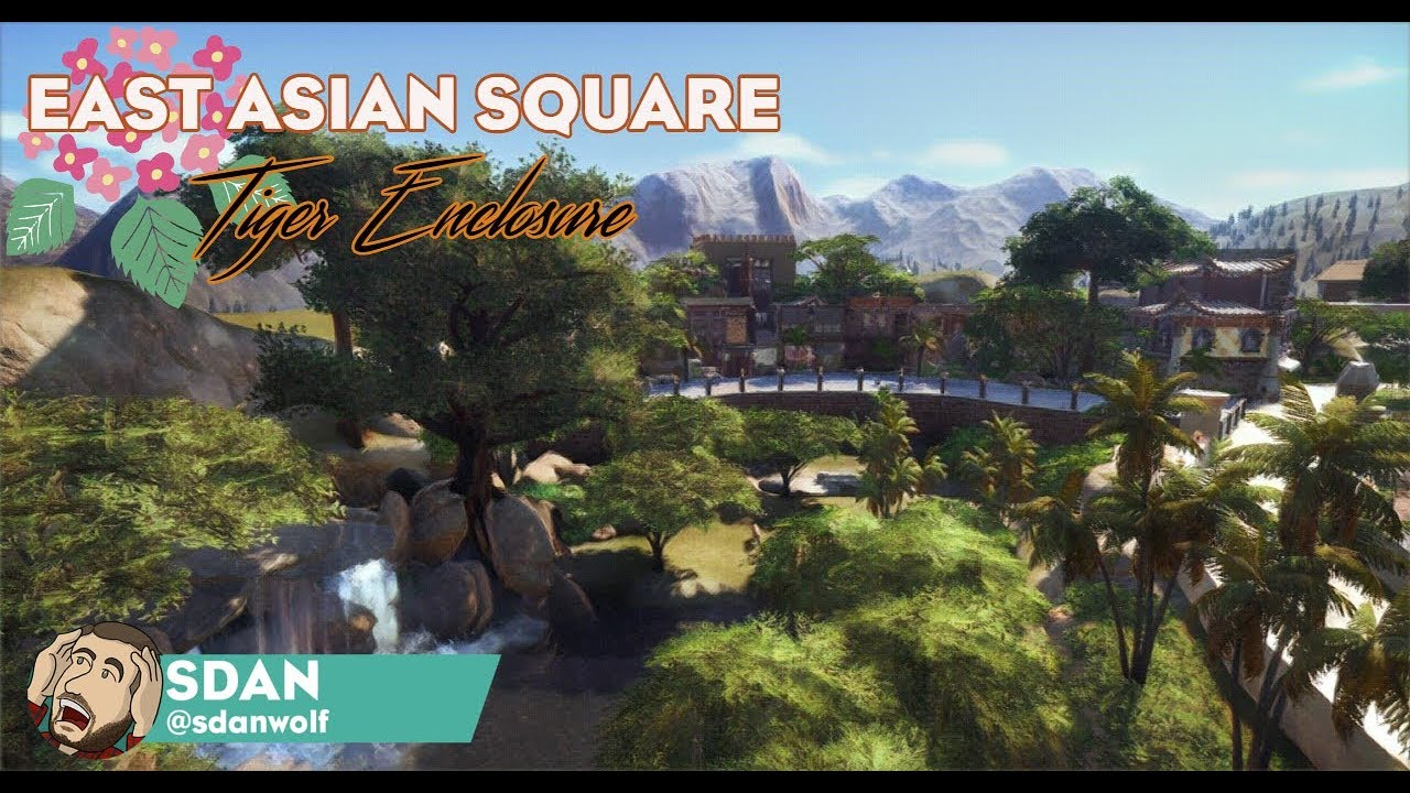 Tiger Enclosure & East Asian Square! | Planet Safari Park