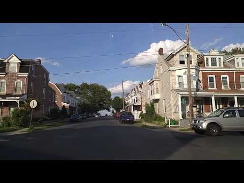 Driving by Allentown,Pennsylvania