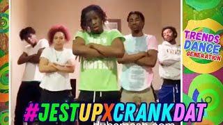 CRANK DAT BIH UP Challenge 🔥 Instagram Best Dance Compilation 🖤 #JesTUpXCrankDat