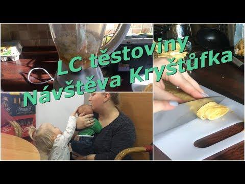 low-carb-těstoviny,-návštěva-u-kryštůfka- -mamavlog