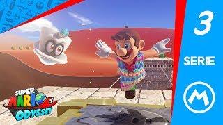 SUPER MARIO ODYSSEY #3 (ESPAÑOL) | BUSCANDOLUNAS EN EL REINO DE LAS ARENAS!!!
