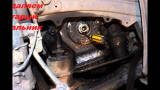 Замена сальника(Манжета)коленвала. Toyota Previa 2001г. Двигатель 2AZ-FE