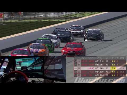 NiS Brickyard 400 - NASCAR iRacing Series Indianapolis Motor Speedway Sim on-board