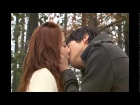 Blind dating kissing scene