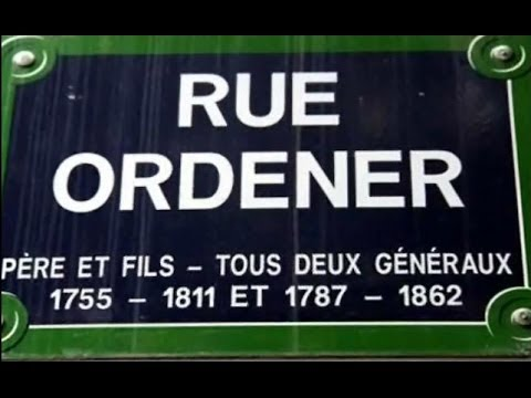 Rue Ordener Paris Arrondissement  18e