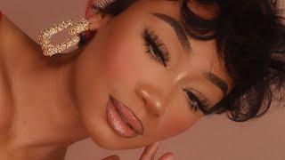 Everyday Glam Makeup Look | Fox Eye Makeup | MakeupTiffanyJ