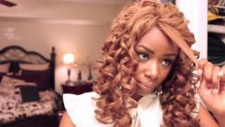 Big Messy Curls | Beyonce` Inspired Hairstyle