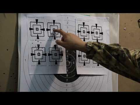 Отстрел Browning BL 22 (диоптрический прицел)