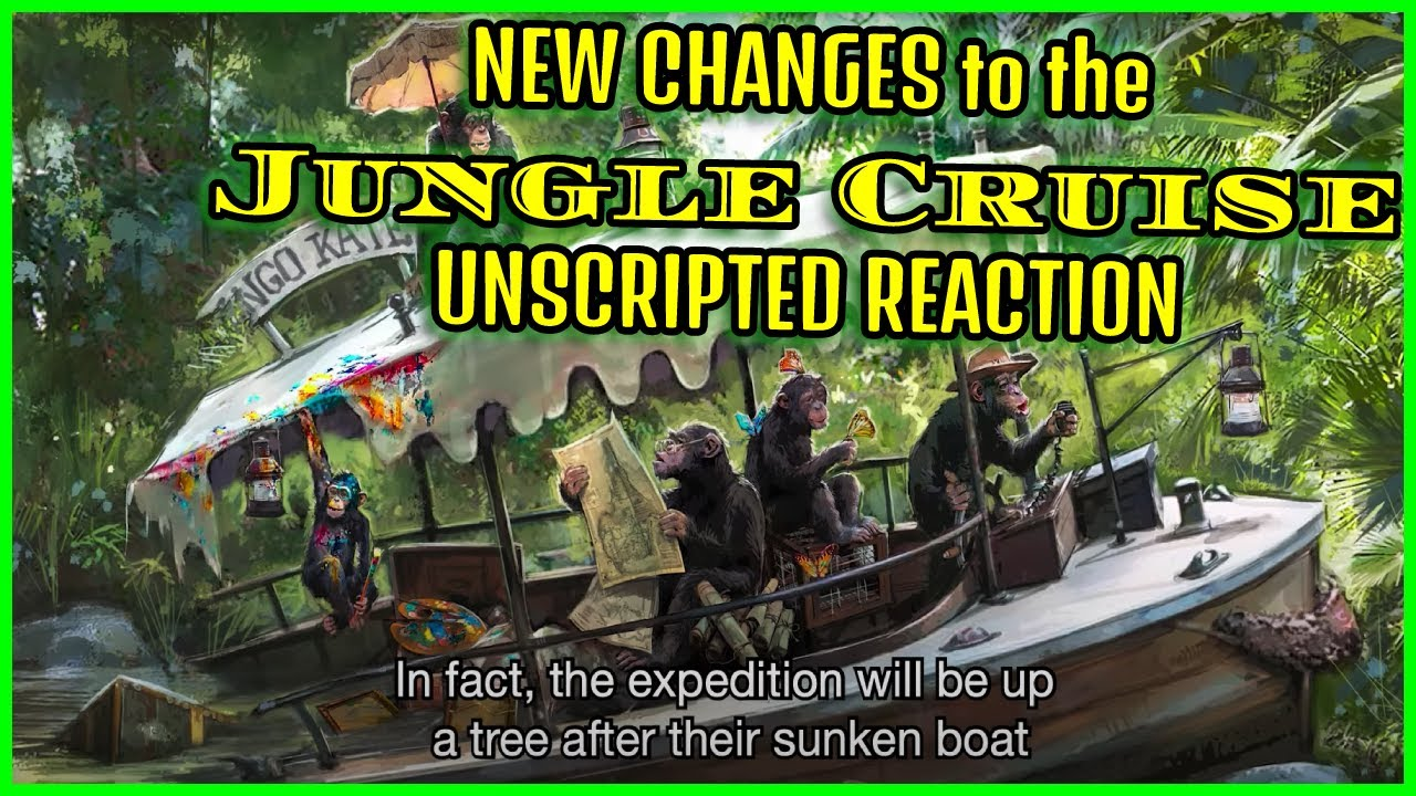 NEW CHANGES to the JUNGLE CRUISE! Unscripted Reaction!