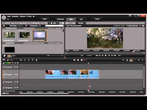 Tastenkürzel zuweisen in Pinnacle Studio 16 und 17 Video 17 von 114