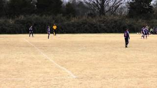 Dynamo U13B vs. Powhatan Fury 11-23-14 First Half - Game 3 Commonwealth Invitational