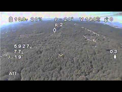 DJI Phantom New World Distance Record