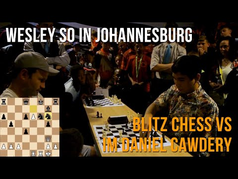 Wesley So playing more blitz in Johannesburg