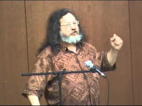 Richard Stallman Lecture
