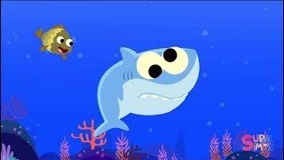 10 Little Fishies Featuring Baby Shark Songs