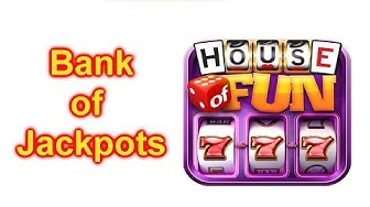 "HOUSE OF FUN Casino Slots How To Play ""BANK OF JACKPOTS"" On Your Cell Phone"