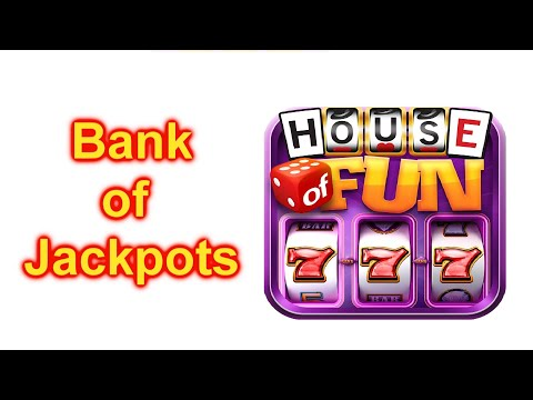 """HOUSE OF FUN Casino Slots How To Play """"BANK OF JACKPOTS"""" On Your Cell Phone"""