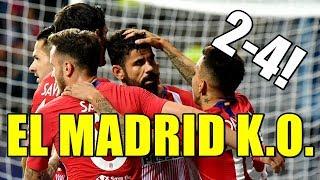¡EL ATLÉTICO Y DIEGO COSTA GOLEAN AL REAL MADRID (2-4) Y GANAN LA SUPERCOPA!