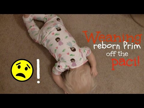 Weaning reborn toddler Prim from her paci! Day in the life style!