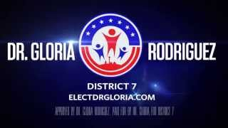 Vote for Dr. Gloria Rodriguez San Antonio, Tx City Council District 7