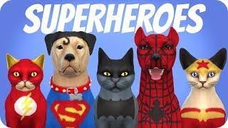 SUPER PETS | Sims 4 Create A Pet