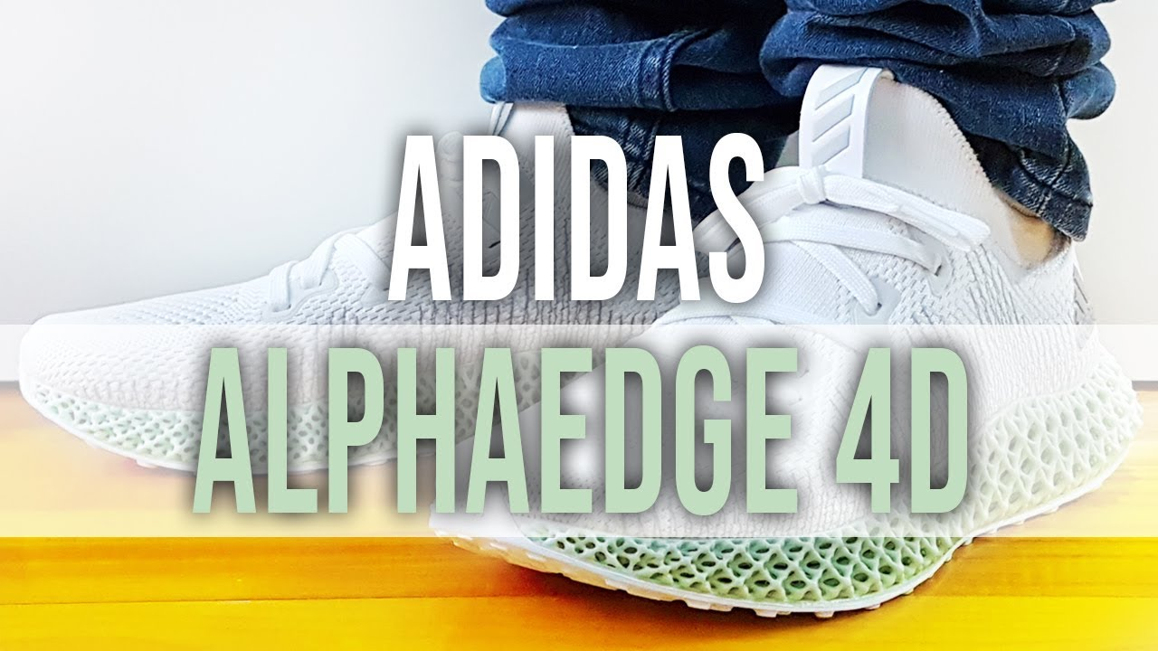 brand new 57c65 ad0a9 ADIDAS ALPHAEDGE 4D on Feet, Close Up and Unboxing