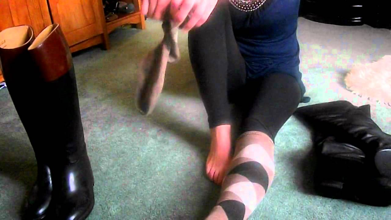 Putting On Riding Socks And Aigle Riding Boots Mp4 Youtube