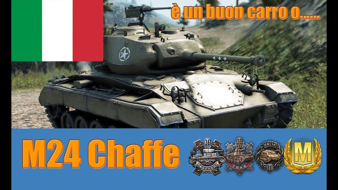 World of Tanks M24 Chaffe Review ITA #1
