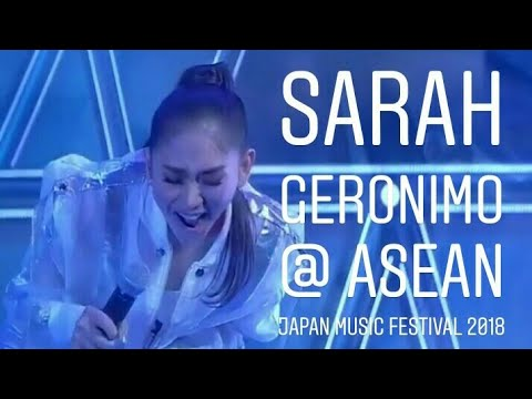 Asia's Queen of Pop Sarah Geronimo at ASEAN Music Festival 2018