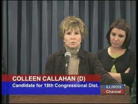 2 of 4: Colleen Callahan (D), Cand. for 18th Cong. Dist.
