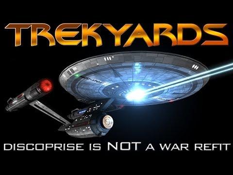 Disco Enterprise is NOT a Wartime Variant - Trekyards Analysis