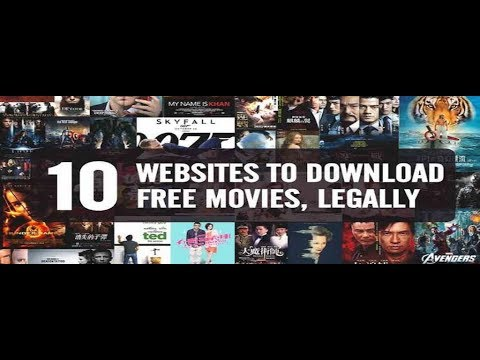 Top 10 Free Movie Download Sites |2020| |Legal| |Streaming|