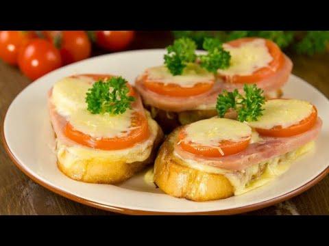 Горячие бутерброды | Как приготовить горячие бутерброды?