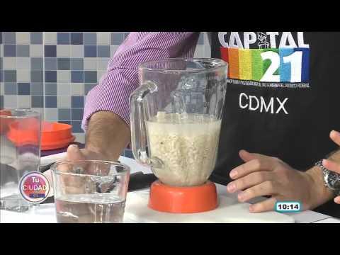 Hoy lunes prepara 'Leche de arroz' con el Chef @ChefLuisCarlos