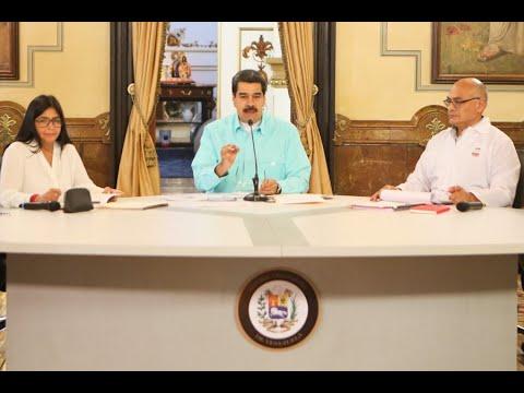 Presidente Maduro en mega jornada de salud, 14 años del Compromiso de Sandino, 27 agosto 2019