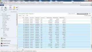 How to use Dynamics NAV Unrealised currencies Gains and Losses