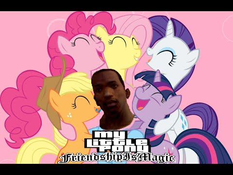 GTA SA My Little Pony видос года