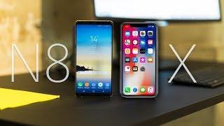 iPhone x vs Galaxy note 8 le quel choisir ?