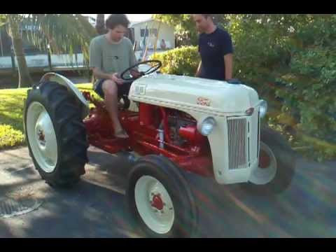 1948 Ford 8n Tractor Restored