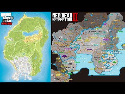 GTA 5's Map vs Red Dead 2's Map, New Treasure Hunts in GTA Online + More (GTA & RDR2 Q&A)