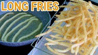 Long Potato Fries l Monster Fries Recipe