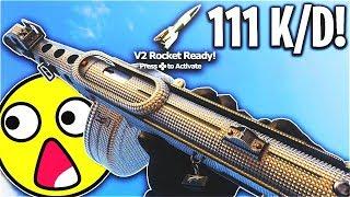 111 KILLS in 1 LIFE... V2 ROCKET & 111 KILLSTREAK! (MY BEST GAMEPLAY) - COD WW2