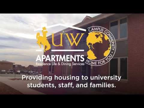Take a Tour of the University of Wyoming  Landmark Village Apartments!