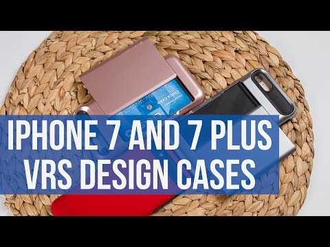 Apple iPhone 7 and 7 Plus VRS Design cases protect it from drops and bring a clever extra feature
