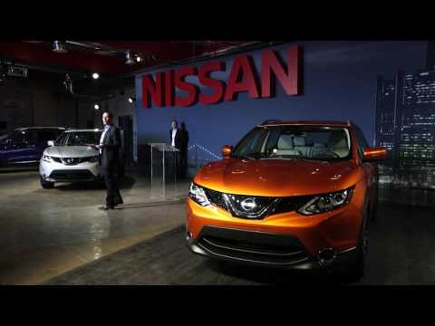 Press Conference: 2017 Nissan Rogue Sport Debuts at Detroit's Eastern Market